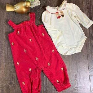 Cute  Gymboree Gingerbread Cookie Outfit 6/12